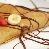 Crepes con Nutella